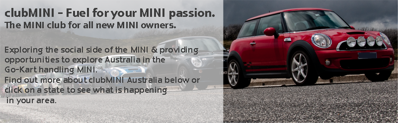 clubMINI, Fuel for your MINI passion. The MINI club for all new MINI owners. Exploring Australia and capturing the social side of MINI ownership